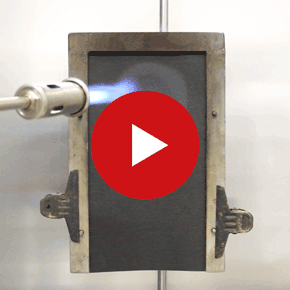 Video Membrane Fire Test Comparison  Class A2 towards  Class B1, Class E  and Class F